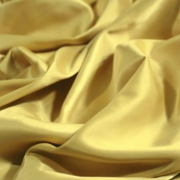 Ткань атлас королевский стрейч бежевый (метр )