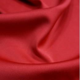 Ткань атлас королевский стрейч красный (метр )