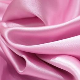 Ткань атлас стрейч тонкий розовый (метр )