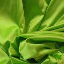 Ткань атлас стрейч тонкий салатовый (метр )