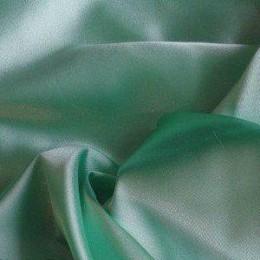 Ткань атлас стрейч тонкий мята (метр )