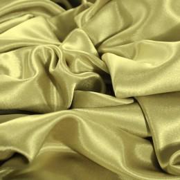 Ткань креп-сатин бежевый (метр )