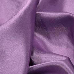 Ткань креп-сатин сиреневый (метр )