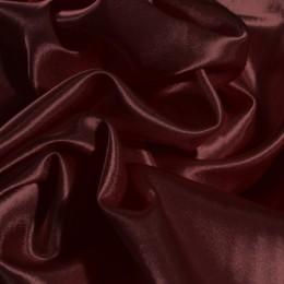 Ткань креп-сатин бордовый (метр )
