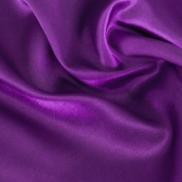 Ткань креп-сатин фиолетовый (метр )