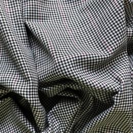 Ткань костюмная стрейч клетка двустороняя(Турция) (метр )