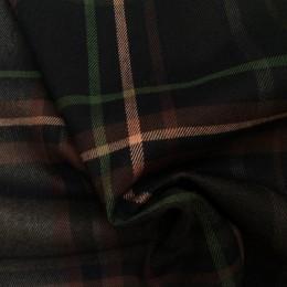 Ткань костюмная стрейч полоска баклажановая(Турция) (метр )