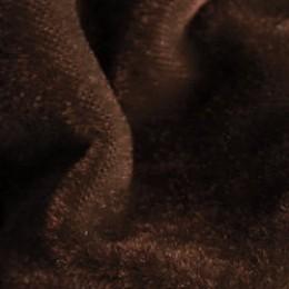 Ткань велюр стрейчевый шоколадный (метр )