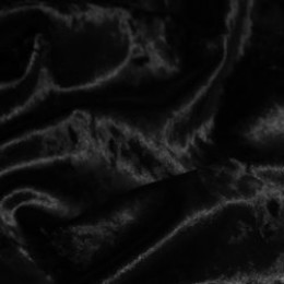 Ткань бархат стрейч мрамор черный (метр )