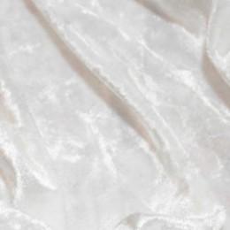 Ткань бархат стрейч мрамор молочный (метр )