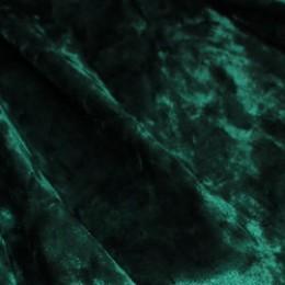 Ткань бархат стрейч мрамор бутылка (метр )