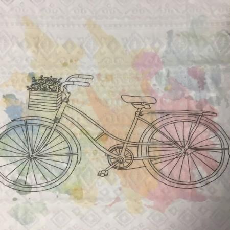 Прямая печать на ткани (цветная ткань полноцвет) 15х20см (Штука)