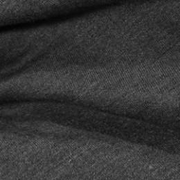 Ткань футер двунитка темно-серый меланж (метр )