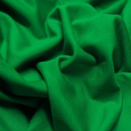 Ткань футер двунитка зеленая (метр )