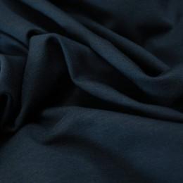 Ткань футер двунитка темно-синяя (метр )