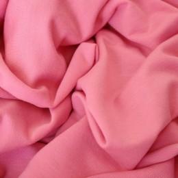 Ткань футер двунитка розовая (метр )