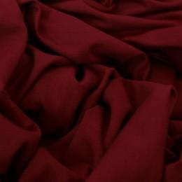 Ткань футер двунитка бордовая (метр )