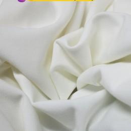Ткань футер двунитка молочная (метр )