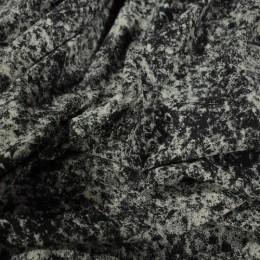 Ткань футер двунитка принт джинс (метр )