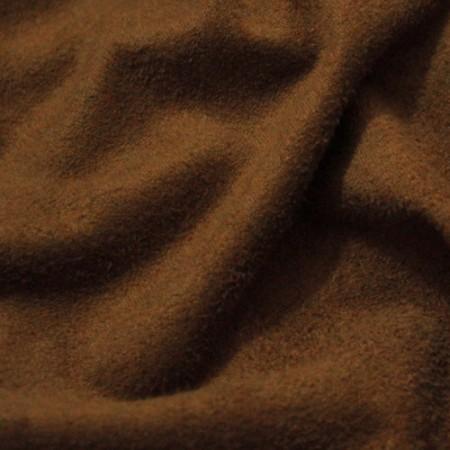 Ткань замша стрейч шоколадный (метр )
