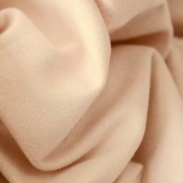 Ткань трикотаж замша персиковый (метр )
