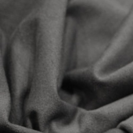 Ткань трикотаж замша серый (метр )