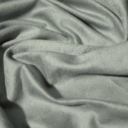 Ткань замша искусственная свело-серая (метр )