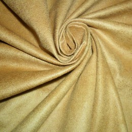 Ткань замша искусственная светло-оранжевый (метр )