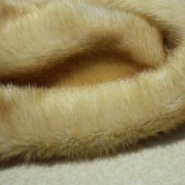 Мех искусственный норка бежевый (метр )