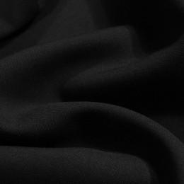 Ткань габардин черный (метр )