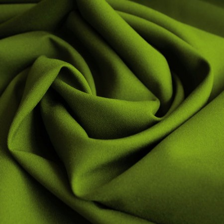 Ткань габардин оливковый (метр )