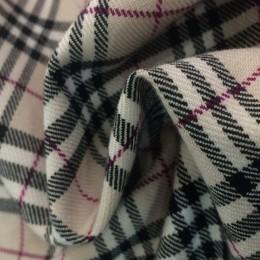 Ткань лен габардин светло-серый (метр )