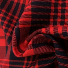 Ткань креп костюмка Барби персиковая (метр )