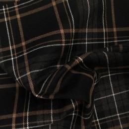 Ткань креп костюмка Барби бордовая (метр )
