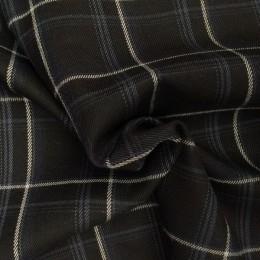 Ткань креп костюмка Барби бирюзовая (метр )