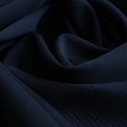Ткань костюмная мадонна темно-синяя (метр )