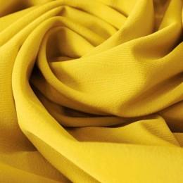 Ткань костюмная мадонна желтая (метр )