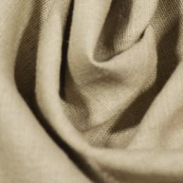 Ткань лен стрейчевый бежевый (метр )