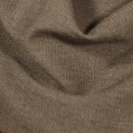 Ткань лен стрейчевый кофе с молоком (метр )