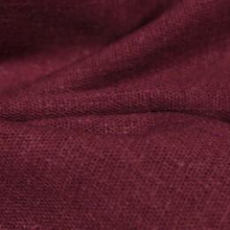 Ткань лен стрейчевый марсала (метр )