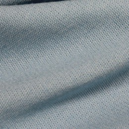 Ткань лен стрейчевый голубой (метр )
