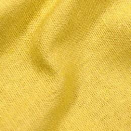 Ткань лен стрейчевый желтый (метр )