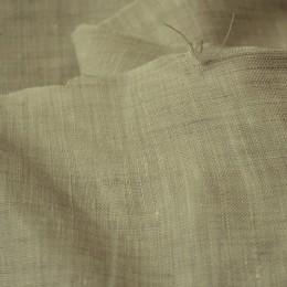 Ткань лен белорусский рубашечный бежевый (метр )