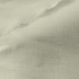 Ткань лен белорусский рубашечный молочный (метр )