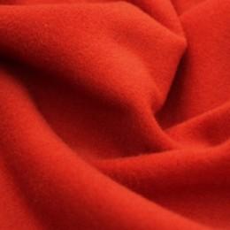 Ткань пальтовая кашемир (580 GSM) морковный (метр )