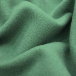 Ткань пальтовая кашемир (580 GSM) серо-зеленый (метр )