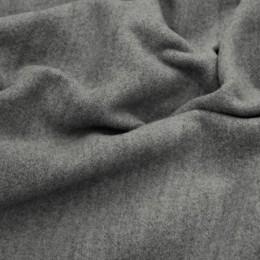 Ткань пальтовая кашемир (580 GSM) серый (метр )