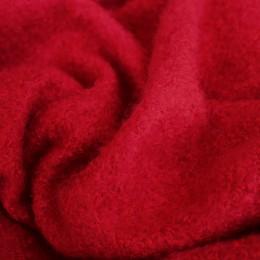 Ткань пальтовая букле красная (Турция) 1 (метр )