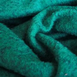 Ткань пальтовая букле бирюза (Турция)  (метр )