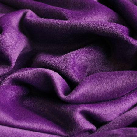 Ткань пальтовая ворсовая фиолетовая (метр )